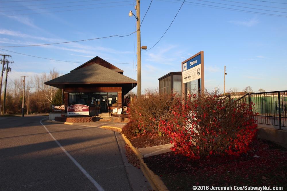 Bangor Mi Amtrak S Pere Marquette The Subwaynut