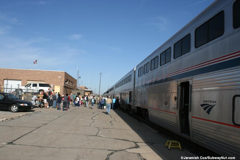 La Junta Co Amtrak S Southwest Chief The Subwaynut