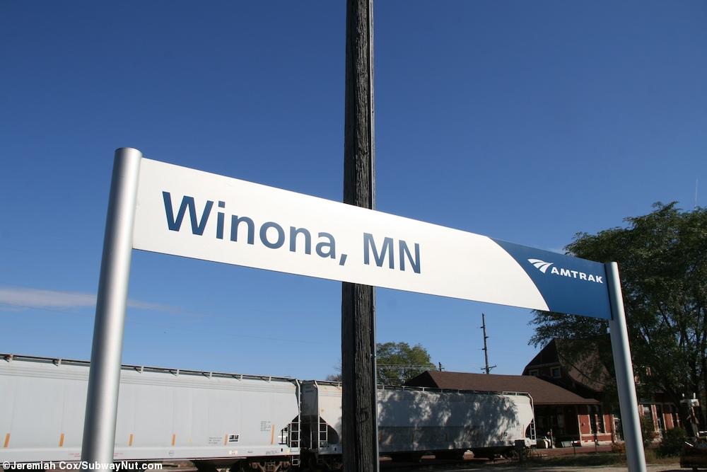 Winona MN Amtrak 39 S Empire Builder The SubwayNut