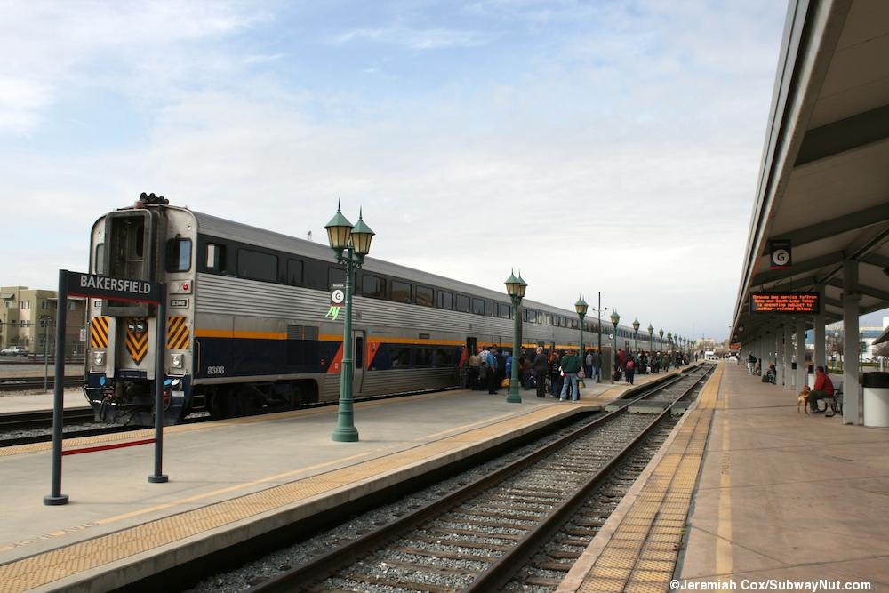 Bakersfield Ca Amtrak San Joaquin The Subwaynut