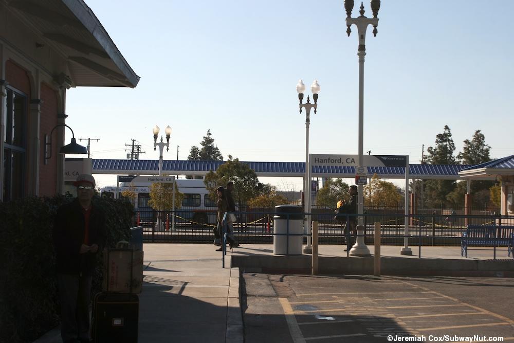 Hanford Ca Amtrak San Joaquin The Subwaynut