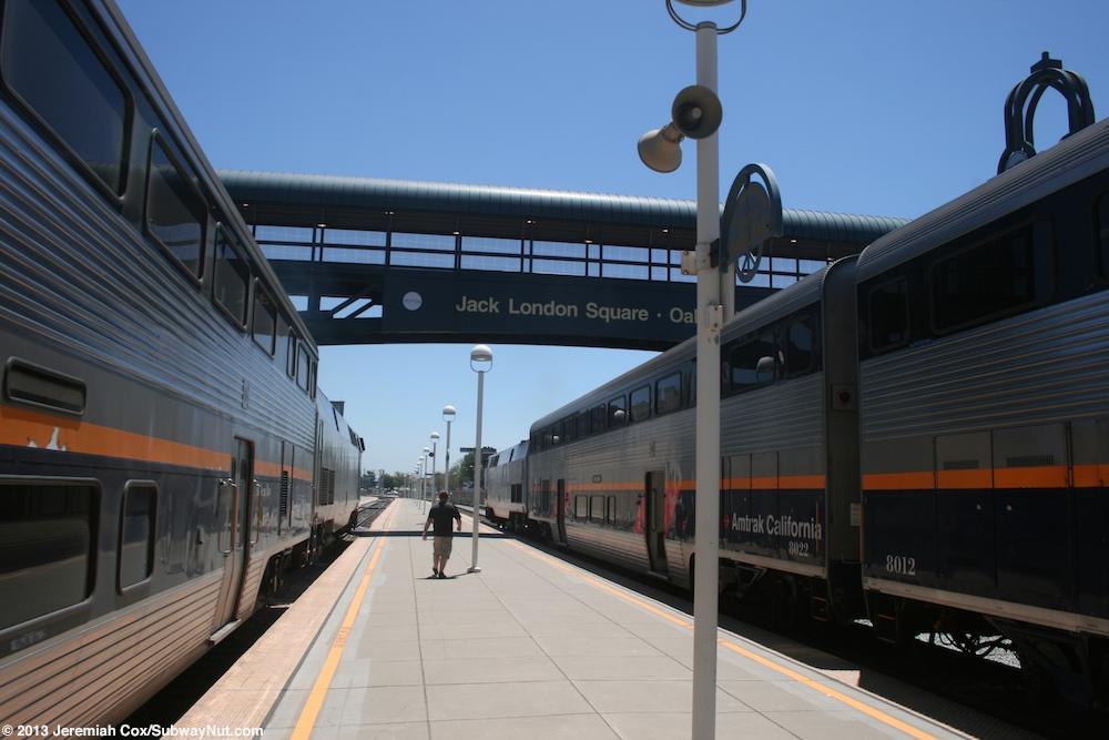 Oakland Jack London Square Ca Amtrak California S