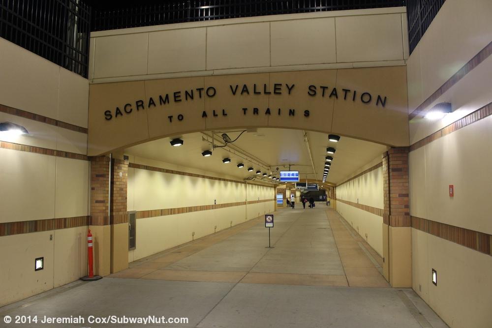 Sacramento Ca Amtrak Capitol Corridor California Zephyr