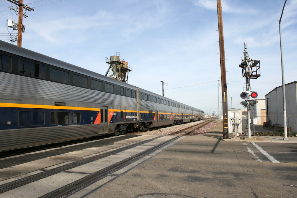 Stockton San Joaquin Street Ca Amtrak San Joaquin