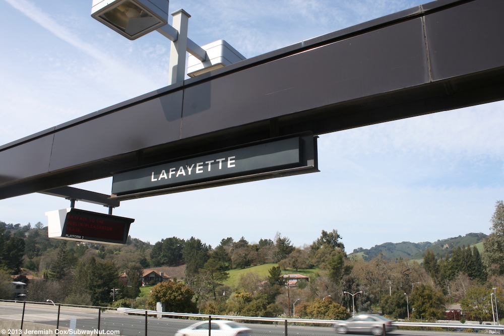 Lafayette Bart Sfo Airport Pittsburgh Bay Point Line