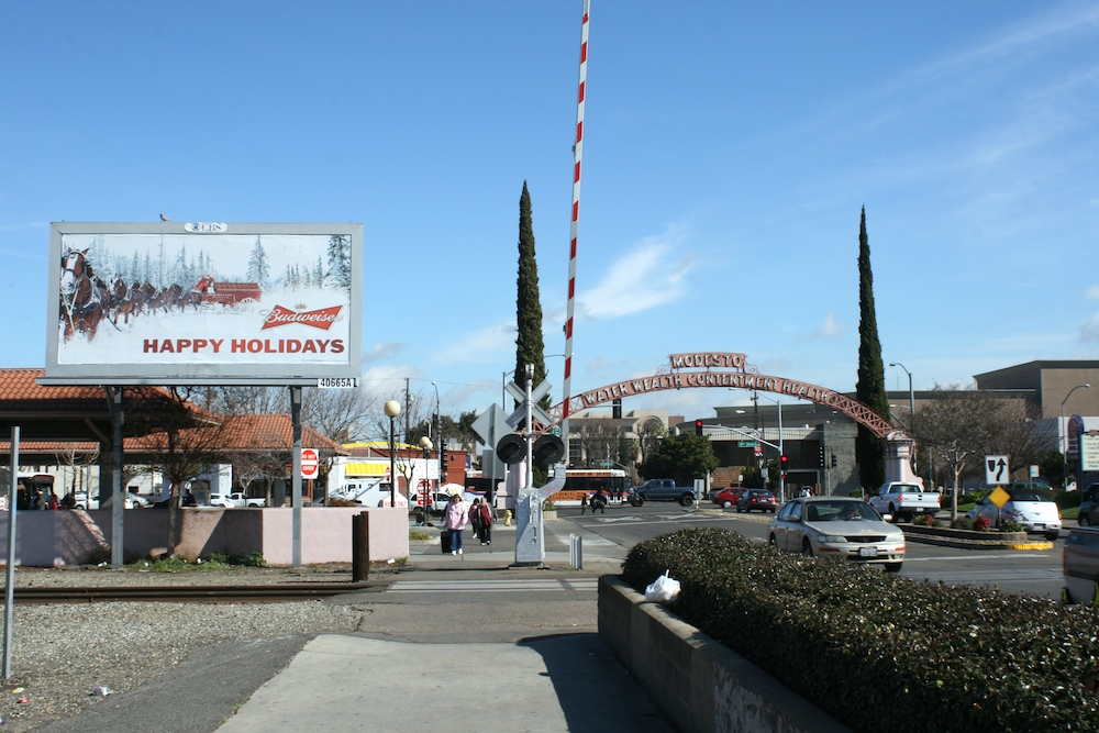 Modesto Historic Sp Station The Subwaynut