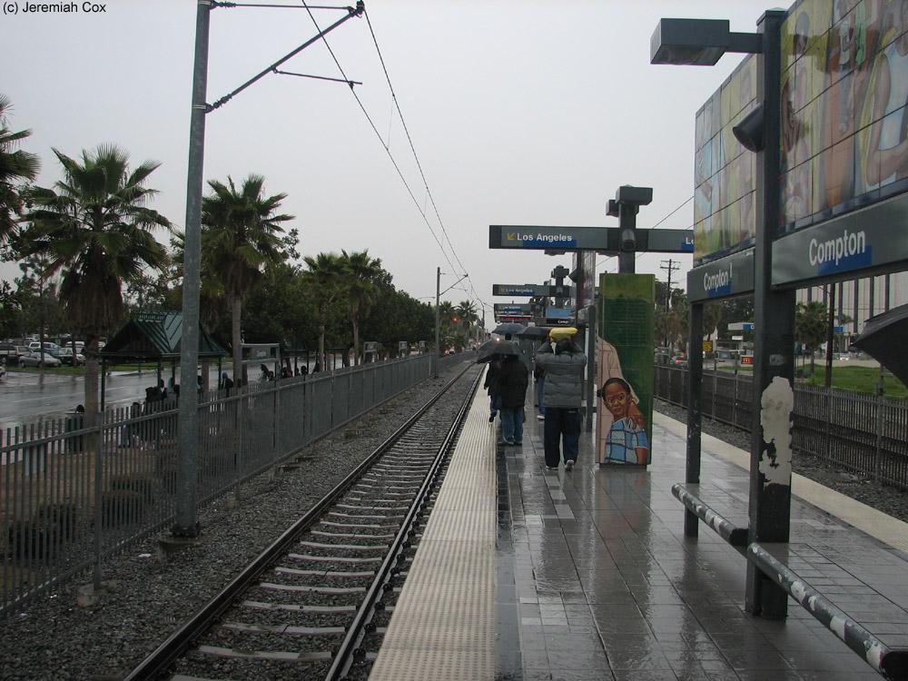 Compton (LA Metro Blue Line) - The SubwayNut