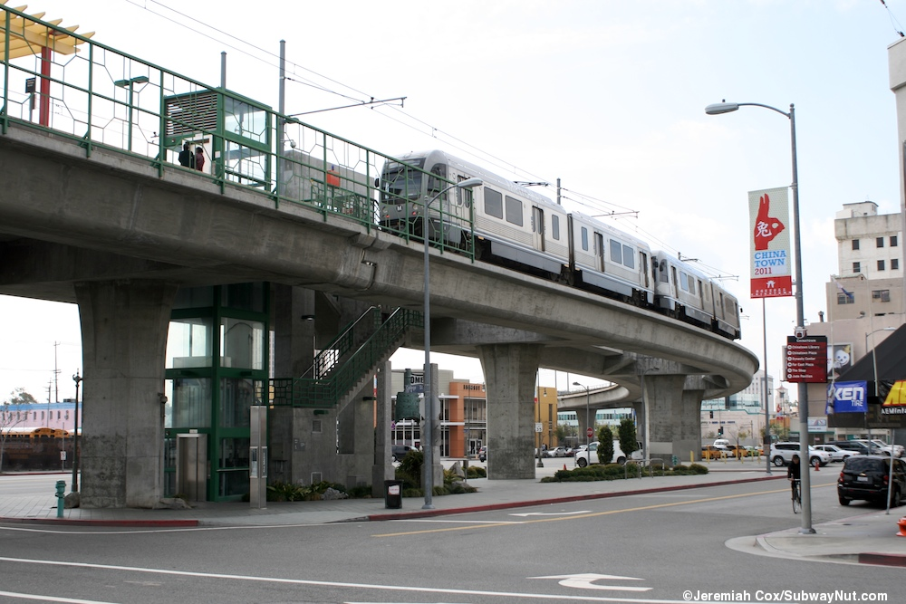 Chinatown (LA Metro Gold Line) Photos Page 2 - The SubwayNut