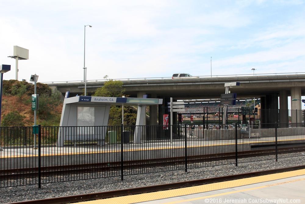 Anaheim Regional Intermodal Transportation Center Metrolink Orange