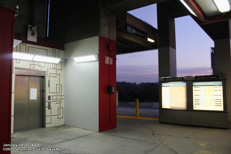 Cal State L A Metrolink San Bernardino Line The Subwaynut