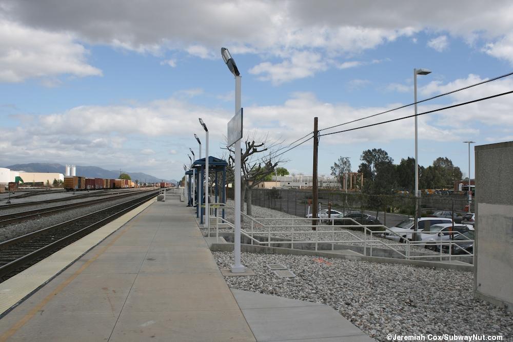 Van Nuys Metrolink Ventura County Line Amtrak Pacific
