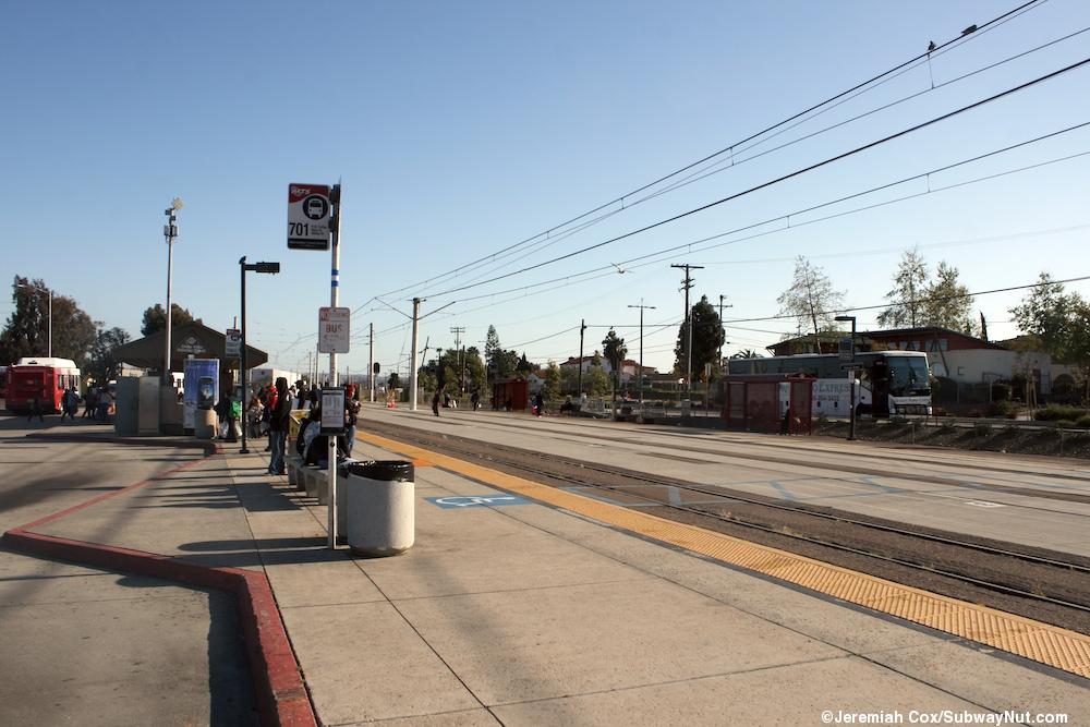 Palomar Street San Diego Trolley Blue Line The Subwaynut