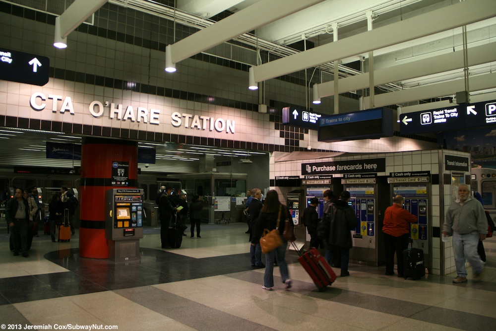 Ohare airport cta station