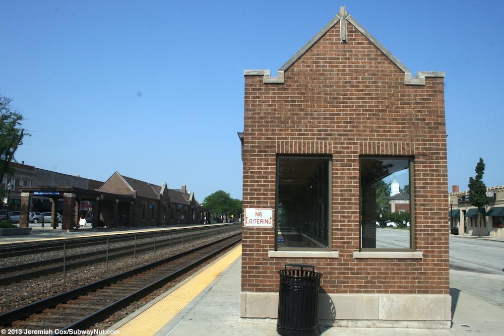 La Grange Road Metra Bnsf Railway Amtrak S Illinois
