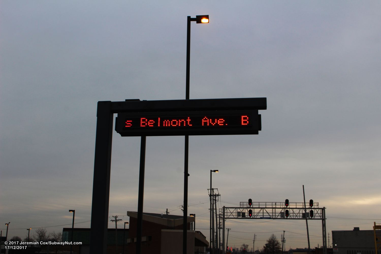 Belmont Ave Franklin Park Metra Milwaukee North