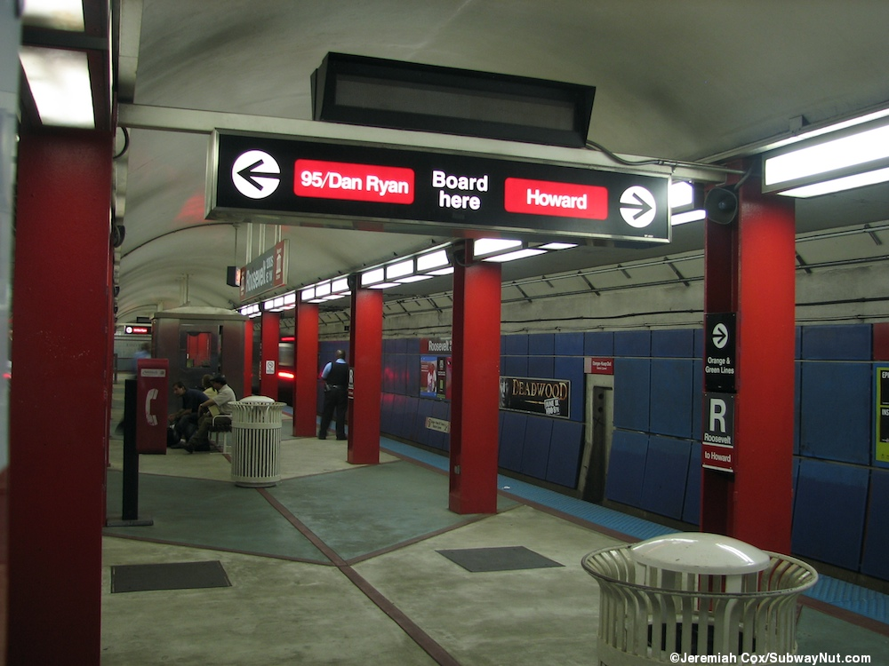 Roosevelt Cta Red Line The Subwaynut