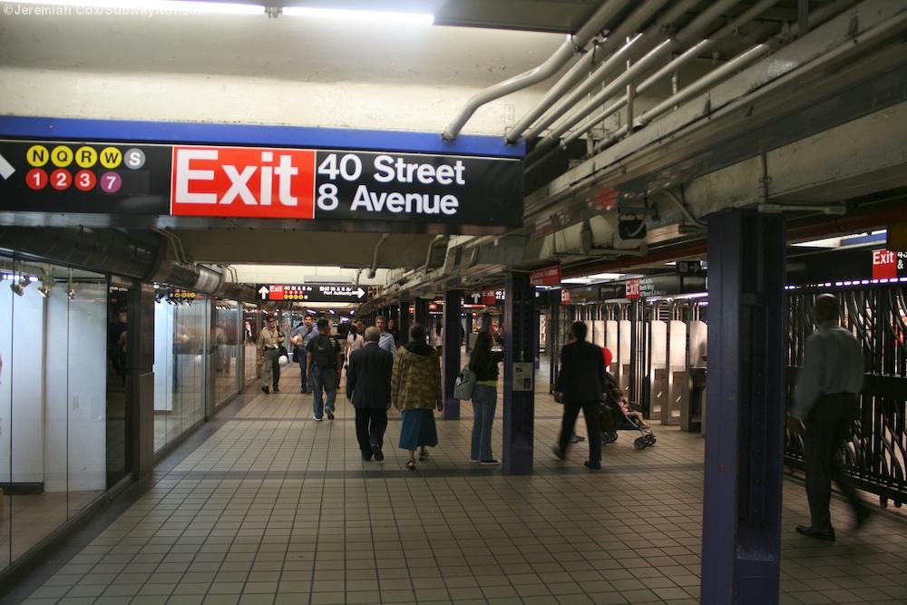 42 Street Port Authority Bus Terminal A C E The Subwaynut