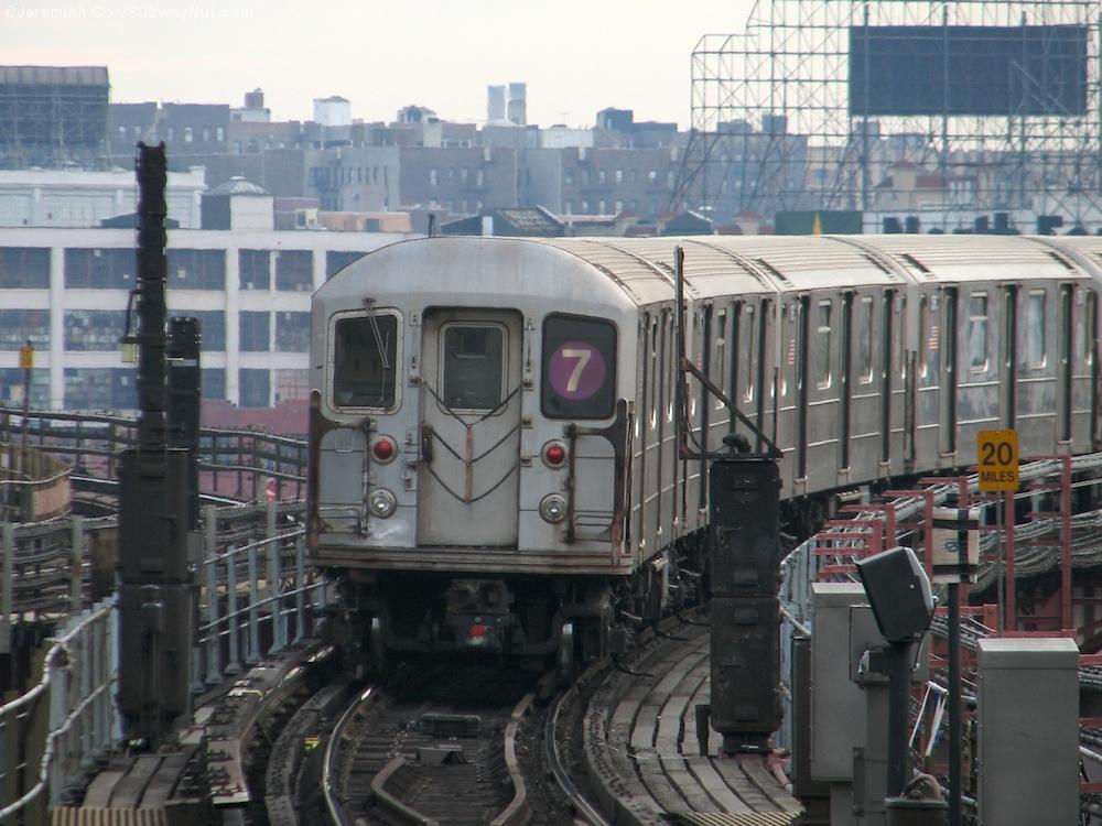 Queensboro Plaza 7 N Q The Subwaynut