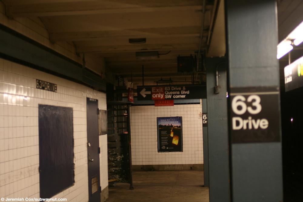 63rd Drive–Rego Park station