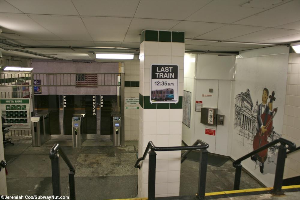 Symphony - Green Line 'E' Branch - The SubwayNut