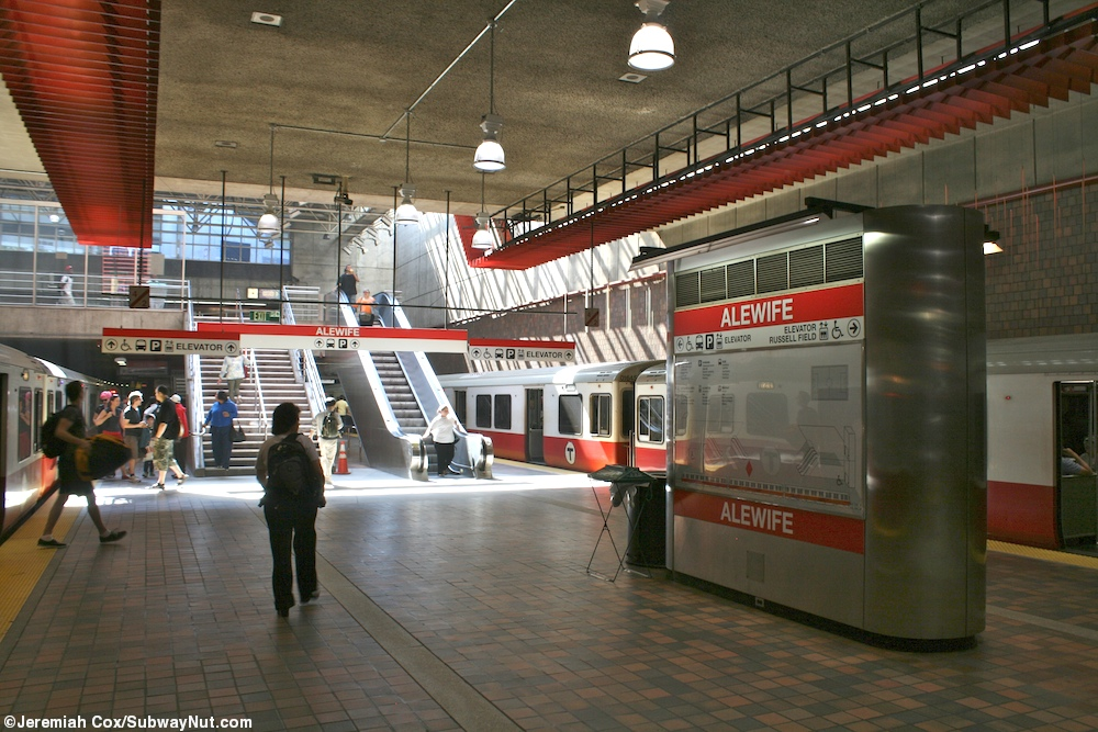 Alewife - Red Line - The SubwayNut