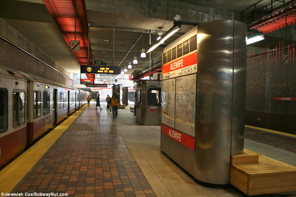 Alewife Red Line The Subwaynut