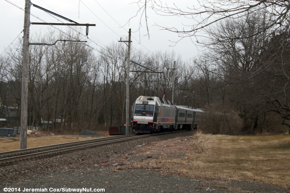 Peapack New Jersey Transit Gladstone Branch Photos