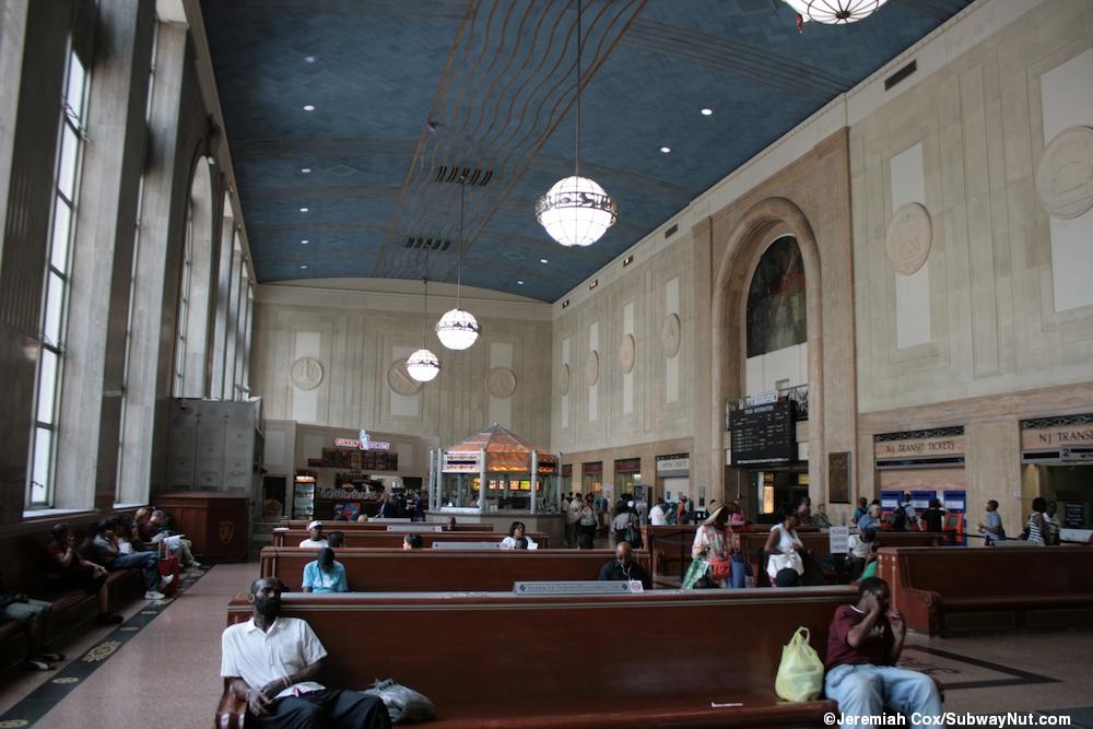 Newark Penn Station Track Street The Subwaynut