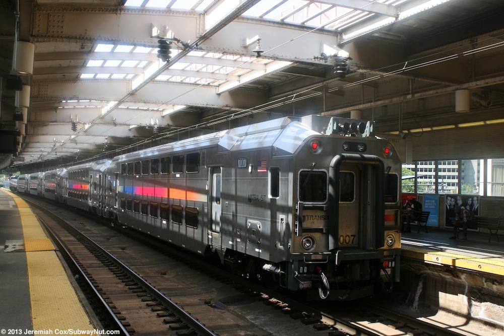 Newark Penn Station Track Level New Jersey Transit S