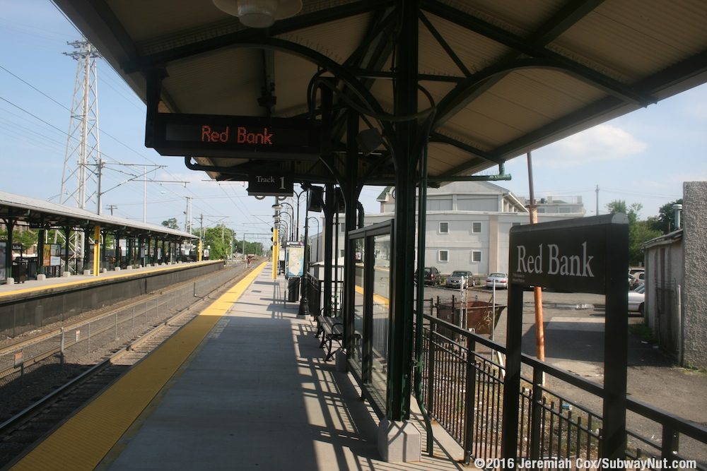 Red Bank New Jersey Transit North Jersey Coast Line
