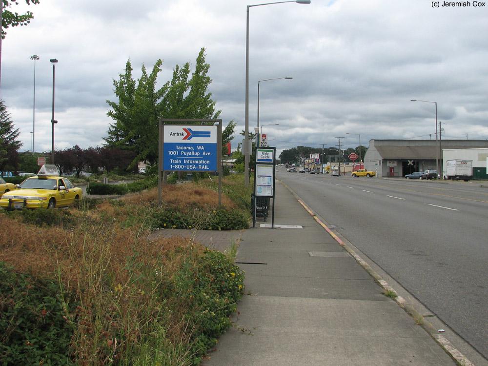 Tacoma Wa Amtrak Cascades And Coast Starlight The